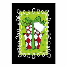 Red and White Christmas Present Packages Polyester Mini Garden Flag NEW