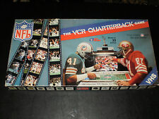 THE VCR QUATERBACK GAME INTERACTIVE GAME 1986