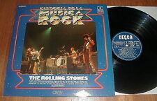 "ROLLING STONES 1982 ""Historia De La Musica Rock"" LP w Honky Tonk Women NM-"