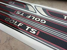 Edelstahl Carbon Folien Einstiegsleisten Golf 5 6 7 V  VI VII TSI TDI GTI GTD