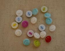 Stock lotto 50 bellissimi bottoni faccette  diametro 1 merceria