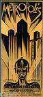 Art painting Deco Metropolis Vintage Print Movie Poster  old film