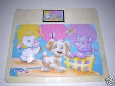 Puzzle bébé en bois 12 pièces thème Animaux idéal dès 18 mois - 2 ans NEUF !