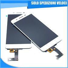 TOUCH SCREEN VETRO + LCD DISPLAY Per Huawei P8 Lite Smart TAG-L01 Bianco White