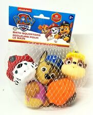 PAW PATROL Bath Squirters Toys Set Pack Heads Skye Chase Rubble Zuma Marshall