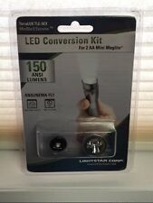 TERRALUX AA MINI MAG LITE LED UPGRADE BULB TLE-5EX 150 LUMENS MAG LIGHT TORCH