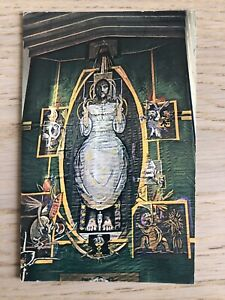 Graham Sutherland Tapestry Coventry Cathedral Postcard 1966