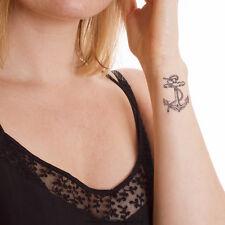 10 kleine Anker XL Tattoos mit Seil - kleine Seemann Tattoos - Small Anchor