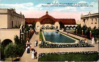 Vintage 1915 Lagoon Botanical Panama California Exposition San Diego CA Postcard