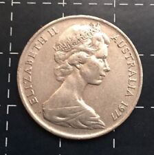 1977 AUSTRALIAN 10 CENT COIN