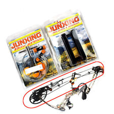 Portable Hand Held Bow Press with 2 Quad Brackets for Compound Bow Archery