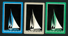 US VF 3 Sailboat Art Deco Playing Cards, 1932