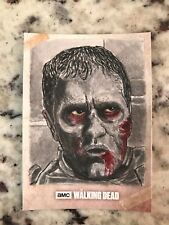 Walking Dead Road to Alexandria Sketch Card Shaow Siong Merle Dixon  2018