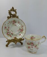 Paragon Victoriana Rose Floral Cup and Saucer Fine Bone China Made in England