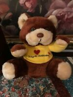 Love Weight Watchers Teddy Bear Brown Authentic Vintage
