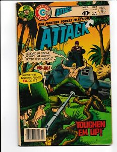 Our Fighting Forces In Action Attack #18 Charlton Comics Book