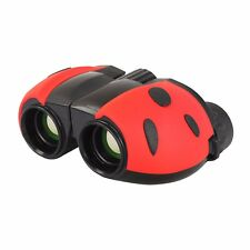 8X22 Mini Toy Binoculars BAK9 Lens Ladybug Design Three Colors W/ Bag Kids Gift