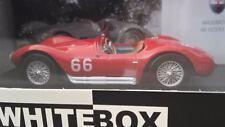 Maserati A6GCS #66 Targa Florio 1953 FANGIO Montovani 1/43 WhiteBox. WBS042.