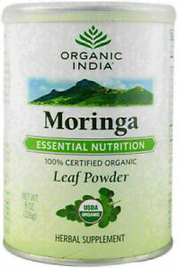 Organic India Moringa powder - 100gm | For the People Suffering Malnutrition