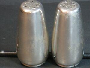 """VTG Gorham Sterling Celeste #1336 Salt & Pepper Shakers 3"""", 72 Grams c1956, EUC!"""
