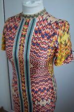 Celebrities New H&M Studio Spring Summer 2016 Dress Silk Patterned Long XS S