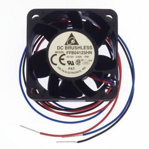 FFB0412SHN-F00 FAN AXIAL 40X28MM 12VDC WIRE 'UK COMPANY SINCE 1983 NIKKO'