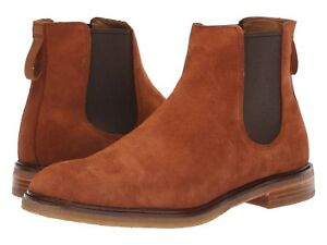 Men's Shoes Clarks CLARKDALE GOBI Suede Pull On Boots 36252 DARK TAN *New*