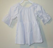 BN ~ Kelly's Kids Robyn White Baby Cord Sash Top Girl's Size 7-8