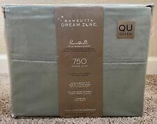 Wamsutta Dream Zone 750-Thread-Count PimaCott Queen Sheet Set in Solid Mint