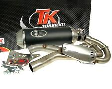 Exhaust sport turbo set 2-in-1 quad atv for yamaha yfm 660r raptor