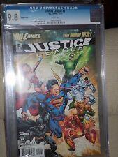 Justice League #2 1:25 Reis Variant CGC 9.8 New 52 Batman Superman Wonder