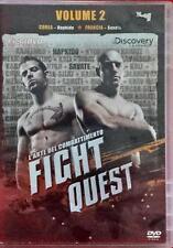 Fight Quest Volume 2 L'arte Del Combattimento Corea Francia Dvd