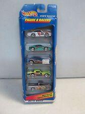 Hot Wheels 5 Car Gift Pack Figure 8 Racers w Ferrari