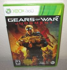 GEARS OF WAR Judgment SEALED NEW XBOX 360 People Can Fly Epic Games Shooter