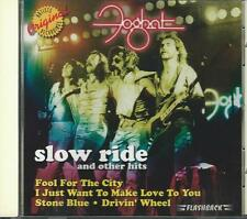 FOGHAT - Slow Ride & Other Hits - CD - VG++ Rhino Flashback  Issue