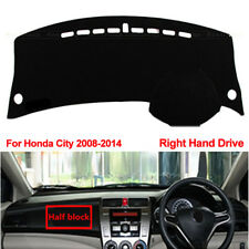 Right Hand Drive's Car Dashboard Cover Dash Mat Fit for Honda City 2008-2014