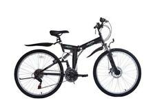 Bicicleta de montaña negros de acero