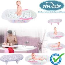 Sevibaby Weiß BLAU Baby Badeliege Aufsatz Hängematte Einlage Badewannensitz 09