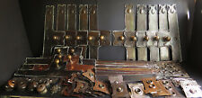 More details for large collection of art nouveau door furniture a/o fittings, copper & silverpate