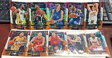 2016-17 Panini Select TRI COLOR Prizm Lot 10 w/Dirk Nowitzki,Paul George,Justise