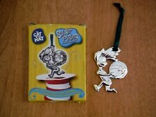 """The Cat In The Hat Silver Plated """"Thing 1 Having A Ball� Christmas Ornament 2003"""