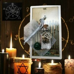 GOOD LUCK SPELL WITCHCRAFT Handmade CRYSTAL Pagan Wicca Magic Gift TAROT