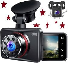 New listing Front & Rear Dual Dash Camera Fhd 1080P,Touch Button,170° Wide Angle