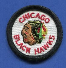 "Chicago Blackhawks Round 2 1/16"" Embroidered Patch - 13171"