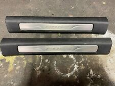 15 16 17 FORD EDGE ILLUMINATED FRONT DOOR SCUFF SILL PLATES OEM