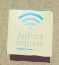 Airport Express with Airtunes Mac + pc