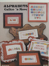 Alphabets Calico 'N More Cross Stitch Pattern Leaflet 1979 19 Pages