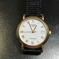 Swiss 18K Solid Gold Man's Mechanical Automatic Winding Watch (Watch The Video)