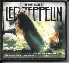 3 CD DIGIPACK 40 TITRES--LED ZEPPELIN BY DREAD ZEPPELIN & GREAT WHITE + REMIXES