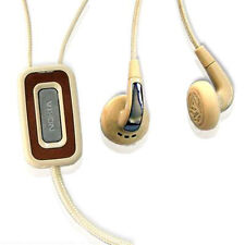 100% Genuine Nokia HS-31 HS31 Stereo Headset - Beige / Off White
